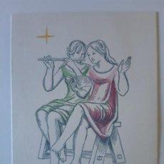 Cartes Postales: BONITA POSTAL DE NAVIDAD. DIPTICO. ESCRITA. DEL COLECCION, . Lote 197837552