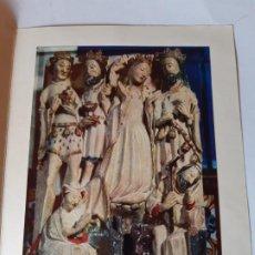 Cartoline: BONITA POSTAL DE NAVIDAD. DIPTICO , DE COLECCION, MUY CURIOSA. IMPRESA,. Lote 197895668