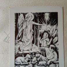 Cartes Postales: FELICITACION DE NAVIDAD. IMPRESA DIBUJO NURIA RIBOT, ESCRITA Y FIRMADA POR NURIA RIBOT- 1969. Lote 197915805