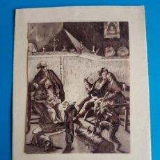 Postales: TARGETA DE NAVIDAD. FELICITACION. CON POEMA DE LLUIS GASSO. Lote 198334943