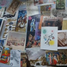 Postales: 100 FELICITACIONES NAVIDAD - IMPRESAS DE FIRMAS COMERCIALES Y ENTIDADES. Lote 198501840
