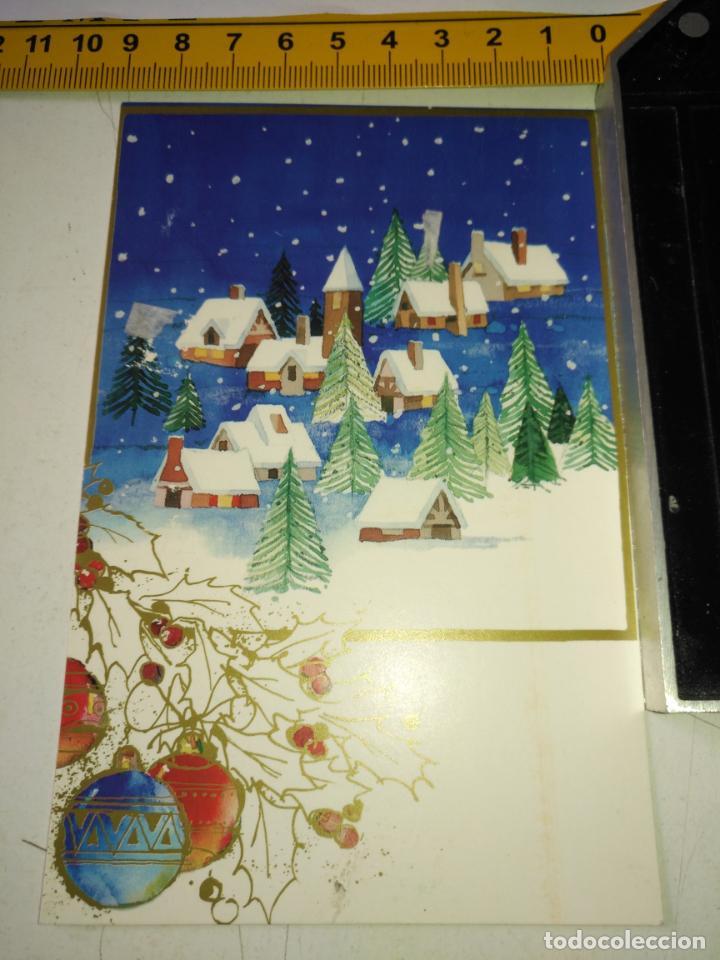 FELICITACION DE NAVIDAD - TARJETA NAVIDEÑA - VER MAS - (Postales - Postales Temáticas - Navidad)