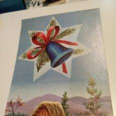 Postales: POSTAL FELICITACION TROQUELADA. Lote 198855353
