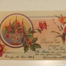 Postales: TARJETA FELICITACIÓN. Lote 198858138