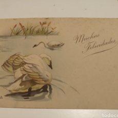 Postales: MUCHAS FELICIDADES POSTAL. Lote 198858505