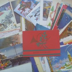 Postales: LOTE DE 50 CRISTMAS DE NAVIDAD , AÑOS 70 - 80 , ETC. Lote 199207962