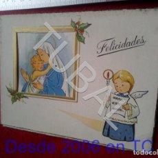 Cartes Postales: TUBAL VILLANUEVA DEL REY FELICITACION DE NAVIDAD B66. Lote 199305207