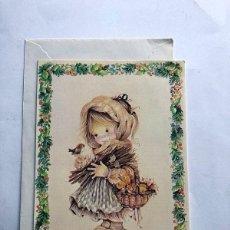 Postales: ROSER PUIG / POSTAL DIPTICO + SOBRE Y CELOFAN / MIRACLE 02.04.227.1 / SIN USAR. Lote 201134610