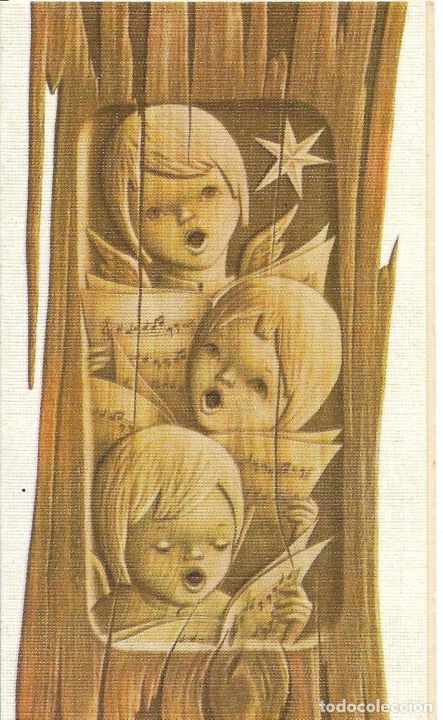 *** M472 - BONITA FELICITACION DE NAVIDAD - 1968 (Postales - Postales Temáticas - Navidad)