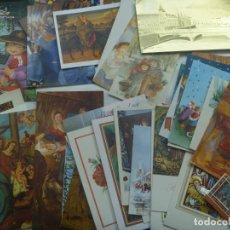 Postales: LOTE DE 50 CRISTMAS DE NAVIDAD , AÑOS 70 - 80 , ETC. Lote 201620048