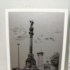 Postales: POSTAL NAVIDAD MONUMENTO COLON AISMALIBAR 1978 BARCELONA. Lote 201813047