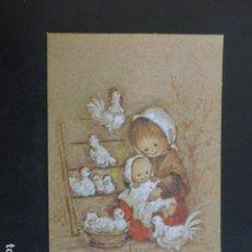 Postales: FELICITACION NAVIDAD MARIA ILUSTRADORA 8,5 X 13 CMTS. Lote 204253042