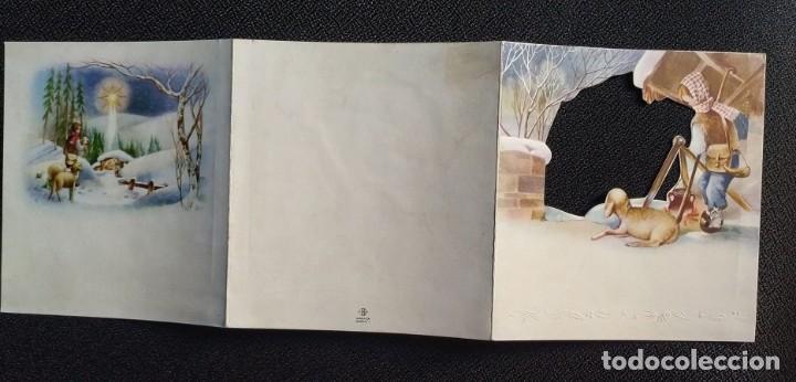 Postales: 6058B - EDICIONES SABADELL IMPERATOR MODELO 1- TRIPTICA 12X11 CM-DATA 1957 - Foto 3 - 204631878
