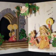 Postales: 6063B - PRECIOSA POSTAL TROQUELADA EDICIONES ILO 1209 - 16X13 CM APROX - 1951. Lote 36129489