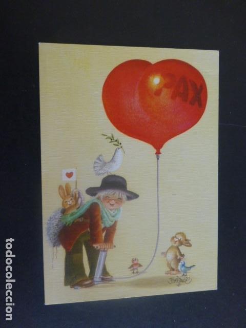 FELICITACION NAVIDAD FERRANDIZ ILUSTRADOR 10 X 14 CMTS (Postales - Postales Temáticas - Navidad)