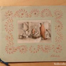 Postales: PN 29 ANTIGUA FELICITACIÓN NAVIDEÑA - FINALES AÑOS 40 DEL S. XX. Lote 205849151
