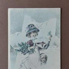 Postales: ANTIGUA POSTAL BONNE ET HEUREUSE ANNÉE 1905. SERIE 559. RAPHAEL TUCK. PARIS. FRANCIA. CIRCULADA.. Lote 206265317
