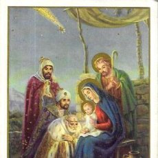 Postales: FELICITACION NAVIDAD * LOS REYES MAGOS ADORANDO A JESÚS * 1964. Lote 206281670