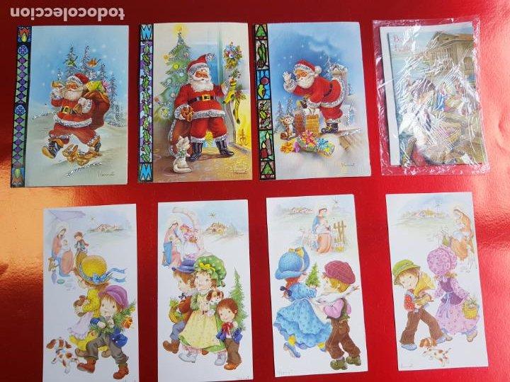 LOTE 8 POSTALES-I.VENNET-DIVERSAS TEMÁTICAS-NUEVAS-VER FOTOS (Postales - Postales Temáticas - Navidad)