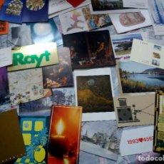 Postales: 100 FELICITACIONES NAVIDAD -PUBLICITARIAS DE EMPRESAS ( LOTE Nº 2 ). Lote 210569667