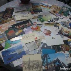 Postales: 100 FELICITACIONES NAVIDAD -PUBLICITARIAS DE EMPRESAS Y OTRAS ENTIDADES( LOTE Nº 3 ). Lote 210570832