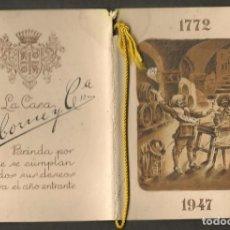 Postales: FELICITACIÓN NAVIDEÑA. LA CASA OSBORNE Y CIA. 1947 (P/C53). Lote 211271289
