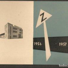 Postales: FELICITACIÓN NAVIDEÑA. TRANSPORTES Y GARAJE U. S. A. PAMPLONA, 1956 - 1957. (P/C53). Lote 211271615