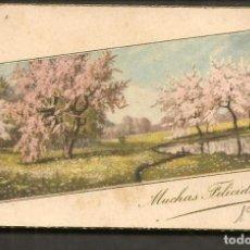 Postales: FELICITACIÓN NAVIDEÑA. DEDICADA, 1947. (P/C53). Lote 211271994