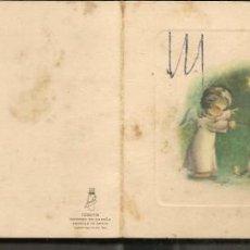 Postales: FELICITACION NAVIDEÑA. DEDICADA. 1960. (P/C53). Lote 211387279