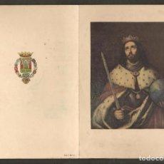 Postales: FELICITACION NAVIDEÑA. CAJA DE AHORROS SAN FERNANDO DE SEVILLA. AÑOS´50. (P/C53). Lote 211387517