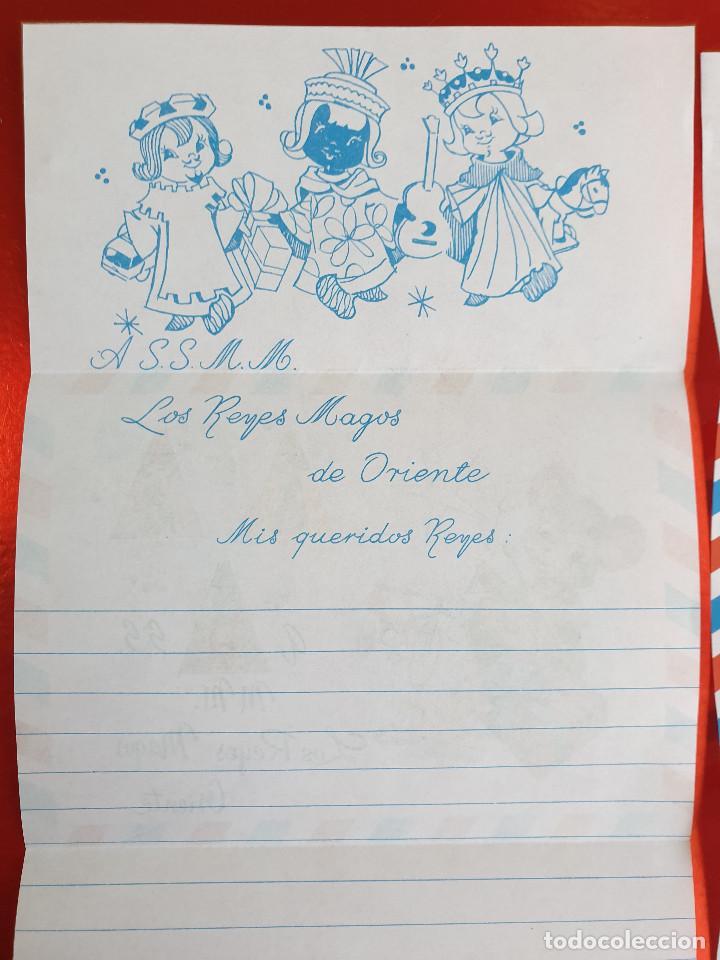 Postales: LOTE 10 UNIDADES-CARTA REYES MAGOS-VINTAGE-ESPAÑA-CLASICOS-ORIGINAL-VER FOTOS-COMO NUEVAS - Foto 2 - 211737423