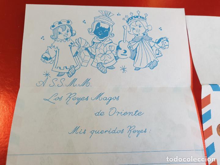 Postales: LOTE 10 UNIDADES-CARTA REYES MAGOS-VINTAGE-ESPAÑA-CLASICOS-ORIGINAL-VER FOTOS-COMO NUEVAS - Foto 6 - 211737423