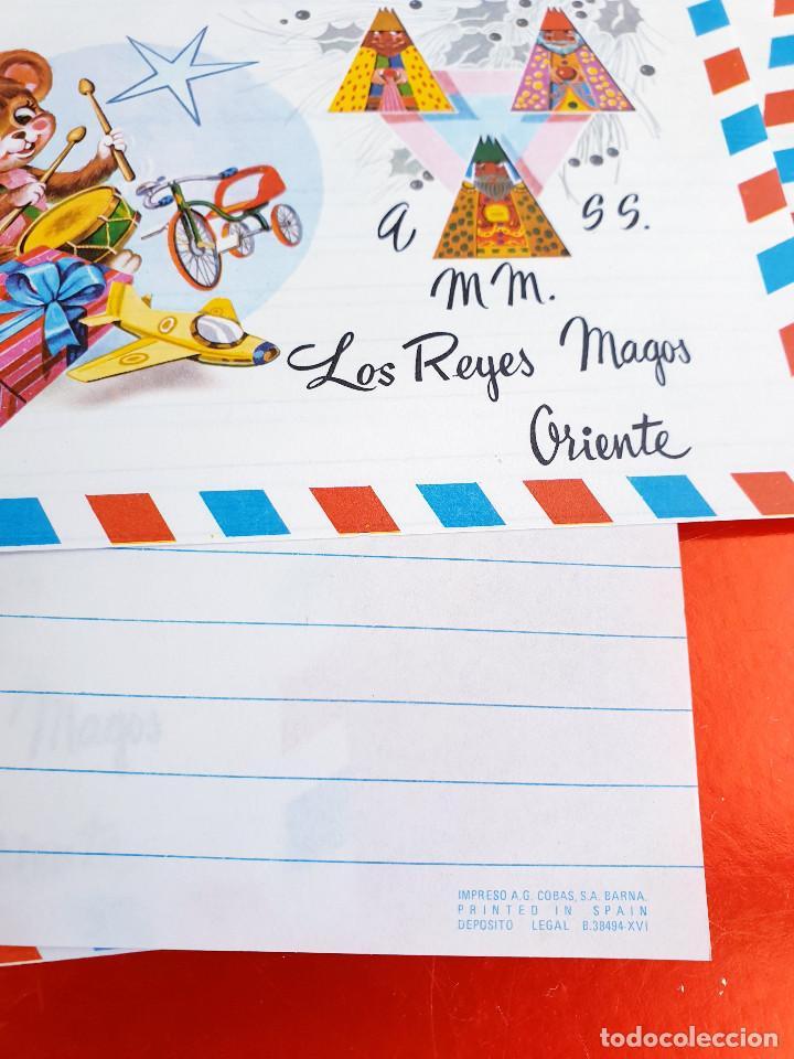 Postales: LOTE 10 UNIDADES-CARTA REYES MAGOS-VINTAGE-ESPAÑA-CLASICOS-ORIGINAL-VER FOTOS-COMO NUEVAS - Foto 8 - 211737423