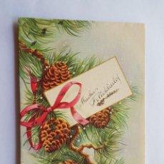Postales: FELICES FIESTAS, HAPPY HOLIDAYS, BONNE FÊTES 1960. Lote 215493486