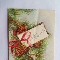Postales: FELICES FIESTAS, HAPPY HOLIDAYS, BONNE FÊTES 1960. Lote 215493562