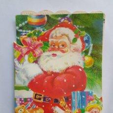 Postales: PAPA NOEL NAVIDAD, SANTA CLAUS CHRISTMAS, NOËL DE PÈRE NOËL, 2000. Lote 215595053