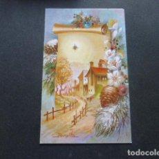 Postales: FELICITACION NAVIDAD PERALTA ILUSTRADOR 8 X 13,5 CMTS. Lote 216440321