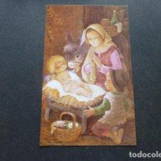 Postales: FELICITACION NAVIDAD CONSTANZA ILUSTRADORA 8,5 X 13,5 CMTS. Lote 216440393