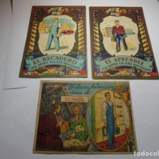 Postales: MAGNIFICAS TRES TARJETAS DE FELICITAR LAS NAVIDADES ANTIGUAS. Lote 218324968