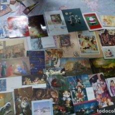 Postales: 125 FELICITACIONES Y TARJETAS NAVIDAD ( LEER DESCRIPCIÓN). Lote 218706198