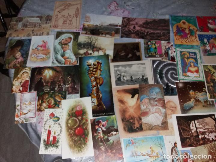 Postales: 145 FELICITACIONES Y TARJETAS NAVIDAD ( LEER DESCRIPCIÓN) - Foto 4 - 218708700