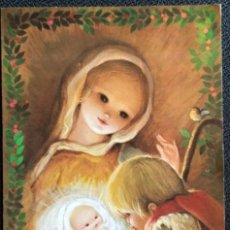 Postales: 0615P - MARTA RIBAS - EDICIONES SABADELL- SERIE MIRACLE 02.04.188.1 - DIPTICA 17X11,8 CM. Lote 218898922