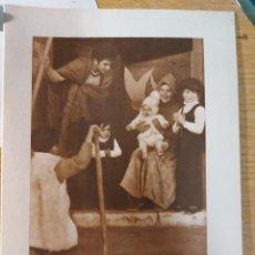 Postales: POSTAL FELICITACION NAVIDAD FOTO PESSEBRE VIVENT DEL MAR A CADAQUES LLUIS ZENDRERA 1972 FOTOGRAFIA. Lote 220896922