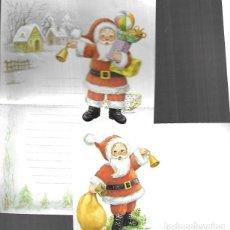 Postales: SOBRE Y CARTA A SANTA CLAUS ( PAPÁ NOËL ) CONTIJOCH - AÑO 1983. Lote 234507440