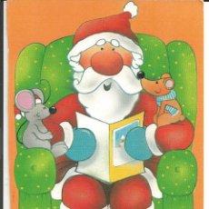 Postales: POSTAL NAVIDAD PAPA NOEL Y LAS RATITAS - 1989. Lote 222066566