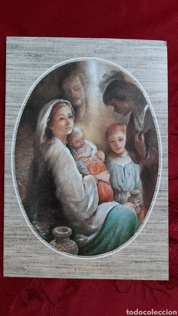 POSTAL NAVIDAD BUSQUETS GRUART 02.04.400.1 DIPTICO ESCRITA (Postales - Postales Temáticas - Navidad)