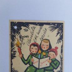 Postales: FELIZ NAVIDAD , MERRY CHRISTMAS, JOYEUX NOËL CIRCA 1950. Lote 222186420