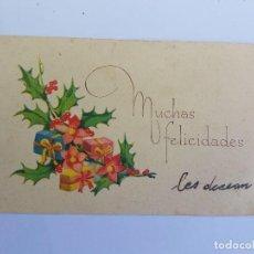 Postales: MUCHAS FELICIDADES, CONGRATULATIONS, TOUTES NOS FÉLICITATIONS, CIRCA 1950. Lote 222186450