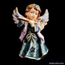 Postales: BONITO PORTAVELAS ANGELITO NAVIDEÑO. Lote 222659933