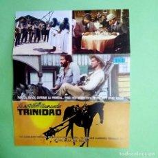 Postales: GUIA DE CINE - LE SEGUIAN LLAMANDO TRINIDAD - 6 PAGI. EXCELENTE- L12. Lote 222687557